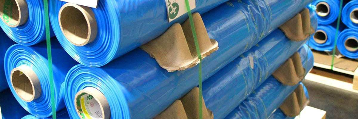 Rolls of VpCI Film on pallet